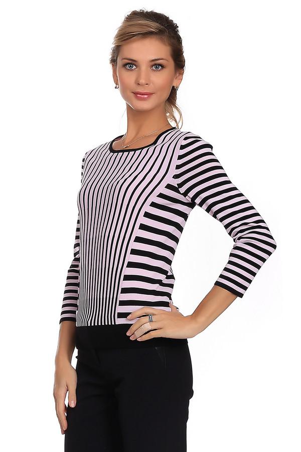Пуловер PezzoПуловеры<br>Модный женский пуловер от бренда Pezzo розового цвета с черными элементами. Такое изделие состоит из вискозы и нейлона. Эта вещь создана для осени или весны. Пуловер немного облегает фигуру. Дополнен вертикальными и горизонтальными полосами. Можно носить как с брюками, так и юбками. Добавит простому образу оригинальности.<br><br>Размер RU: 52<br>Пол: Женский<br>Возраст: Взрослый<br>Материал: вискоза 63%, нейлон 37%<br>Цвет: Чёрный