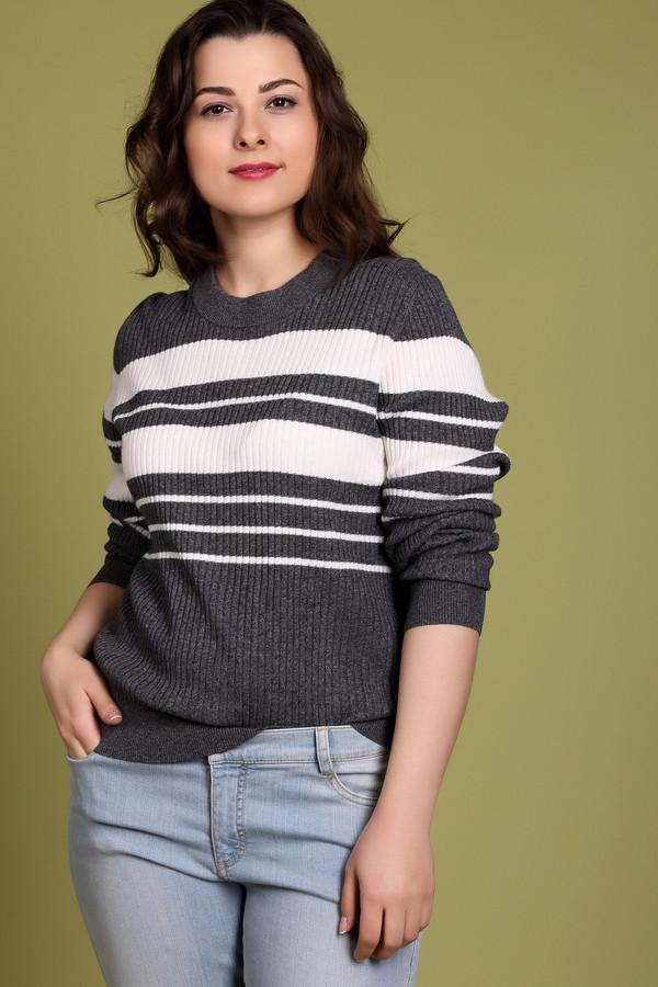 Пуловер PezzoПуловеры<br>Универсальный женский пуловер от бренда Pezzo серого цвета с белыми деталями. Это изделие состоит из вискозы, хлопка, кашемира, полиамида и шерсти. Такая модель подойдет для осени и весны. Пуловер немного облегает фигуру. Украшен горизонтальными белыми полосами. Практичный и стильный вариант на каждый день.<br><br>Размер RU: 44<br>Пол: Женский<br>Возраст: Взрослый<br>Материал: вискоза 33%, полиамид 23%, шерсть 20%, хлопок 20%, кашемир 4%<br>Цвет: Белый