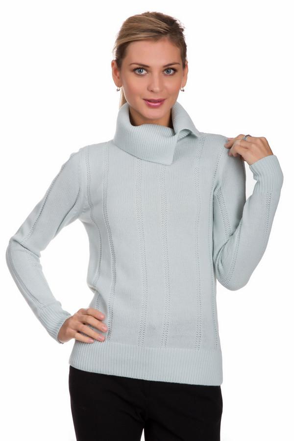 Пуловер PezzoПуловеры<br>Оригинальный женский пуловер от бренда Pezzo голубого цвета. Это изделие состоит из акрила и шерсти. Такая вещь создана специально для холодной зимней погоды. Пуловер сидит по фигуре. Дополнен объёмным воротом, резинками на рукавах снизу. Прекрасный вариант на каждый день. Придаст повседневному образу новых красок и нежности.<br><br>Размер RU: 44<br>Пол: Женский<br>Возраст: Взрослый<br>Материал: шерсть 15%, акрил 85%<br>Цвет: Голубой
