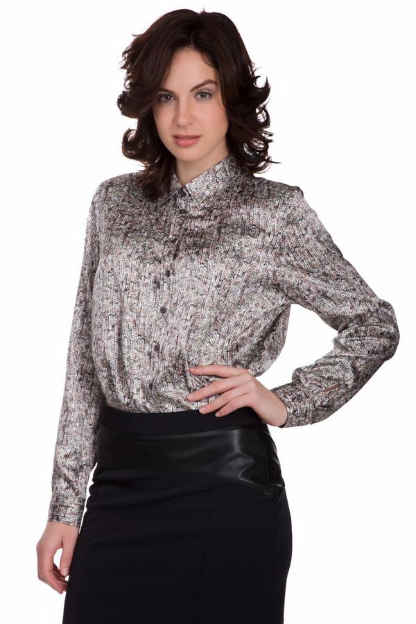 Блузa ErfoБлузы<br>Оригинальная женская блуза Erfo чёрного, серого, розового и бежевого цветов. Эта модель состоит полностью из полиэстера. Данное изделие предназначено для осеннего и весеннего сезонов. Блуза свободного кроя. Украшена маленькими разноцветными пайетками. Застегивается с помощью черных пуговиц. Отличный вариант для вечеринки.<br><br>Размер RU: 44<br>Пол: Женский<br>Возраст: Взрослый<br>Материал: полиэстер 100%<br>Цвет: Разноцветный