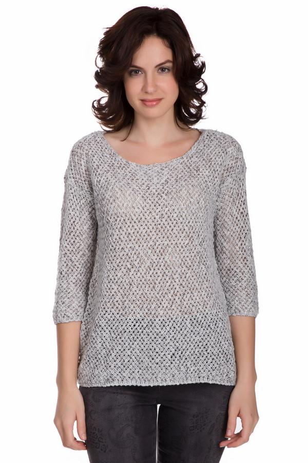 Пуловер Tom Tailor, Китай, Серый, хлопок 61%, полиамид 8%, полиакрил 27%, мохер 4%  - купить со скидкой