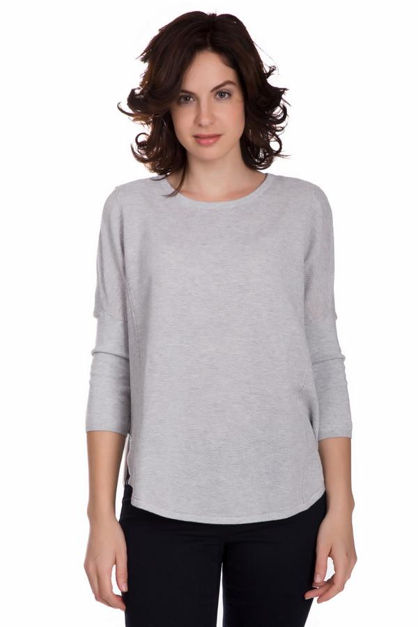 Пуловер Tom TailorПуловеры<br>Практичный женский пуловер Tom Tailor серого цвета. Это изделие состоит полностью из хлопка. Такая вещь предназначена для осени и весны. Пуловер свободного кроя. Дополнен маленькими разрезами по бокам. Спинка длиннее передней части. Рукава немного укорочены. Практичный и стильный вариант на каждый день.<br><br>Размер RU: 40-42<br>Пол: Женский<br>Возраст: Взрослый<br>Материал: хлопок 100%<br>Цвет: Серый