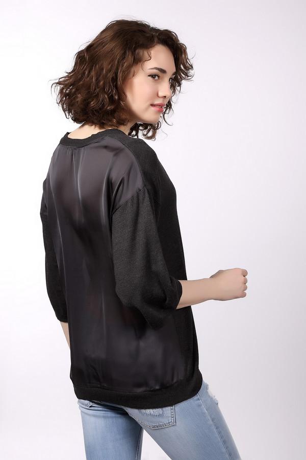 Пуловер Tom TailorПуловеры<br>Практичная женская блуза Tom Tailor черного цвета. Это изделие состоит из хлопка и вискозы. Такую вещь нужно носить осенью и весной. Пуловер свободного кроя. Рукава укороченные. Дополнен V-образным вырезом. Подойдет для тех, кто любит простые цветовые решения в одежде. Хорошо подойдет для праздничного мероприятия.<br><br>Размер RU: 44-46<br>Пол: Женский<br>Возраст: Взрослый<br>Материал: хлопок 60%, вискоза 40%<br>Цвет: Серый