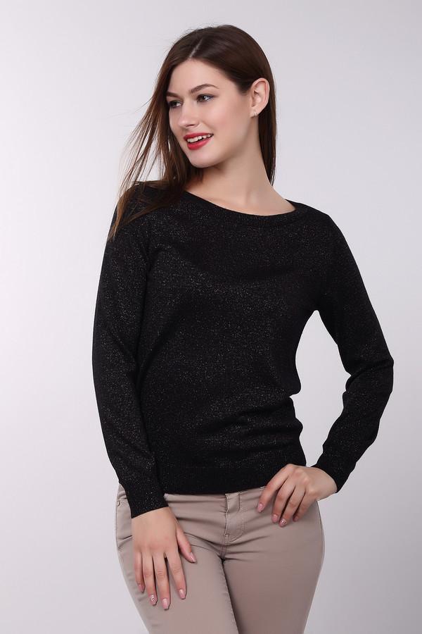 Пуловер PezzoПуловеры<br>Стильный женский пуловер от бренда Pezzo черного цвета с серебристыми деталями. Данное изделие состоит из вискозы, полиамида, шерсти и полиэстера. Такая вещь рассчитана на осень и весну. Пуловер немного облегает фигуру. Украшен блестящими вкраплениями. Лучше всего сочетать с однотонной светлой одеждой. Подобная модель подойдет для любого праздника.<br><br>Размер RU: 42<br>Пол: Женский<br>Возраст: Взрослый<br>Материал: полиэстер 15%, полиамид 19%, вискоза 47%, шерсть 19%<br>Цвет: Серебристый
