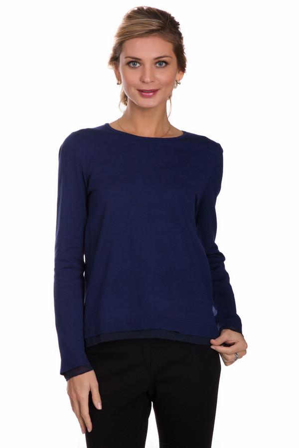 Пуловер PezzoПуловеры<br>Практичный женский пуловер от бренда Pezzo синего цвета. Это изделие состоит из вискозы и полиамида. Такая вещь рассчитана на осень и весну. Пуловер свободного кроя. Рукава длинные. Вырез не глубокий. Дополнен сзади маленьким вырезом на спине. Хорошее решение для любого повода. Подойдет тем кому нравятся интересные цветовые решения в одежде.<br><br>Размер RU: 54<br>Пол: Женский<br>Возраст: Взрослый<br>Материал: полиамид 32%, вискоза 68%<br>Цвет: Синий
