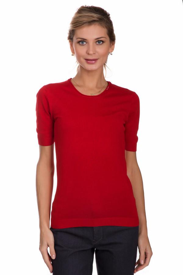 Пуловер PezzoПуловеры<br>Модный женский пуловер от бренда Pezzo красного цвета. Этот образец состоит из полиамида и вискозы. Такая вещь рассчитана на весну и осень. Пуловер немного облегает фигуру. Рукава три четверти. Подобная модель будет отлично будет смотреться в сочетании с однотонными брюками или юбками. Подойдет тем кому по душе яркие расцветки в одежде.<br><br>Размер RU: 52<br>Пол: Женский<br>Возраст: Взрослый<br>Материал: полиамид 32%, вискоза 68%<br>Цвет: Красный