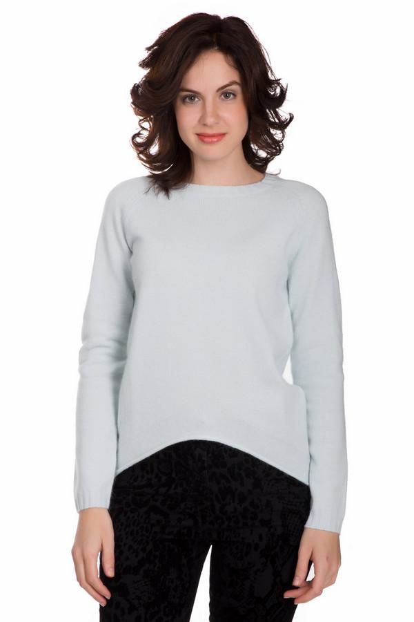 Пуловер PezzoПуловеры<br>Яркий женский пуловер от бренда Pezzo мятного голубого цвета. Данное изделие было изготовлено из шерсти, ангоры и полиамида. Эта модель рассчитана холодную зимнюю погоду. Пуловер свободного кроя. По бокам и сзади удлинен. Отлично будет смотреться с узким однотонным низом. Такая вещь придаст любому образу нежности и теплоты.<br><br>Размер RU: 52<br>Пол: Женский<br>Возраст: Взрослый<br>Материал: шерсть 70%, полиамид 10%, ангора 20%<br>Цвет: Голубой