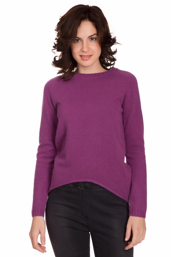Пуловер PezzoПуловеры<br>Модный женский пуловер от бренда Pezzo насыщенного розового цвета. Данное изделие было изготовлено из шерсти, ангоры и полиамида. Эта модель рассчитана холодную зимнюю погоду. Пуловер свободного кроя. По бокам и сзади удлинен. Отлично будет смотреться с узким однотонным низом. Подойдет для тех кто любит одежду ярких цветов.<br><br>Размер RU: 50<br>Пол: Женский<br>Возраст: Взрослый<br>Материал: шерсть 70%, полиамид 10%, ангора 20%<br>Цвет: Фиолетовый
