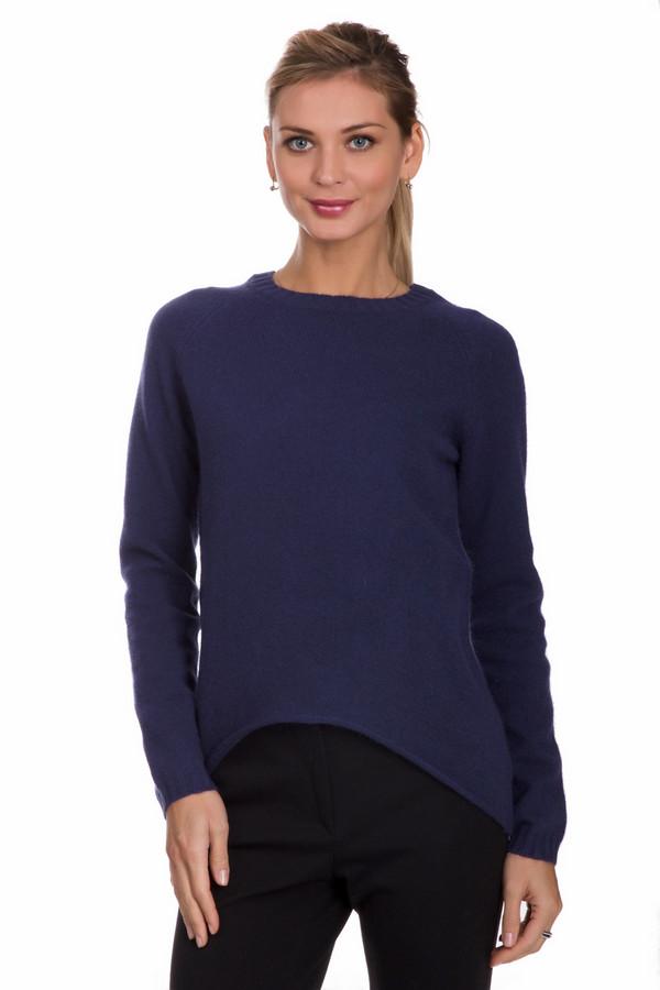 Пуловер PezzoПуловеры<br>Практичный женский пуловер от бренда Pezzo синего цвета. Данное изделие состоит из шерсти, ангоры и полиамида. Такая модель рассчитана холодную зимнюю погоду. Пуловер свободного кроя. По бокам и сзади удлинен. Идеально сочетается с узкими темными брюками или юбками. Подойдет тем кому по душе простые цветовые решения.<br><br>Размер RU: 46<br>Пол: Женский<br>Возраст: Взрослый<br>Материал: шерсть 70%, полиамид 10%, ангора 20%<br>Цвет: Синий