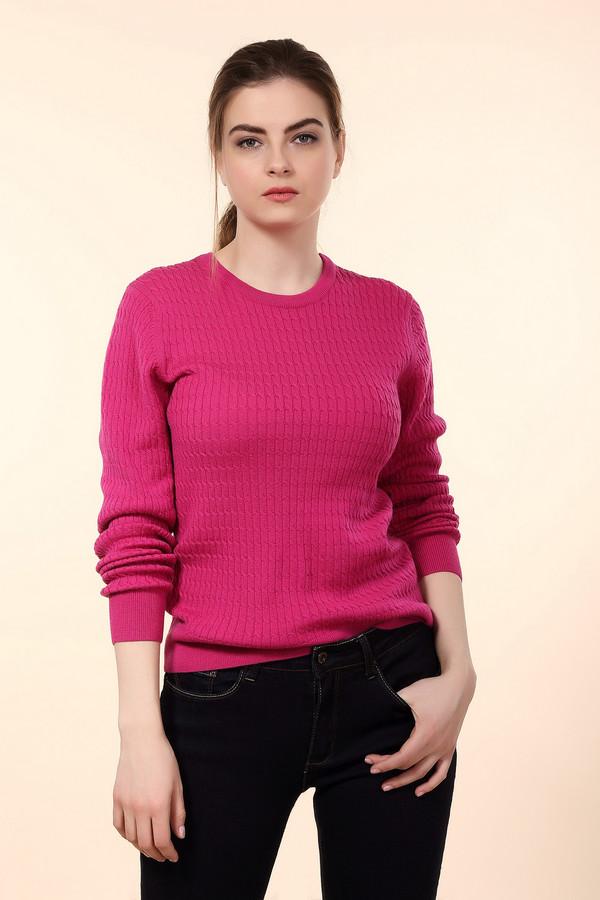 Пуловер PezzoПуловеры<br>Яркий женский пуловер от бренда Pezzo насыщенного розового цвета. Это изделие состоит полностью из шерсти. Такая модель рассчитана на весну или осень. Пуловер немного облегает фигуру. Дополнен мелкими вязаными косичками. Отлично сочетается с темными брюками или джинсами. Подойдет для тех кому нравится яркость в одежде.<br><br>Размер RU: 44<br>Пол: Женский<br>Возраст: Взрослый<br>Материал: шерсть 100%<br>Цвет: Розовый