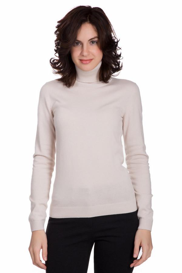 Пуловер PezzoПуловеры<br>Практичный женский пуловер от бренда Pezzo бежевого цвета. Это изделие состоит из вискозы, полиамида, кашемира, хлопка и шерсти. Такая модель рассчитана на осень и весну. Пуловер немного облегает фигуру. Ворот прикрывает шею. Прекрасно будет сочетаться с юбками и брюками. Отличное решение на каждый день.<br><br>Размер RU: 46<br>Пол: Женский<br>Возраст: Взрослый<br>Материал: вискоза 33%, полиамид 23%, шерсть 20%, хлопок 20%, кашемир 4%<br>Цвет: Бежевый
