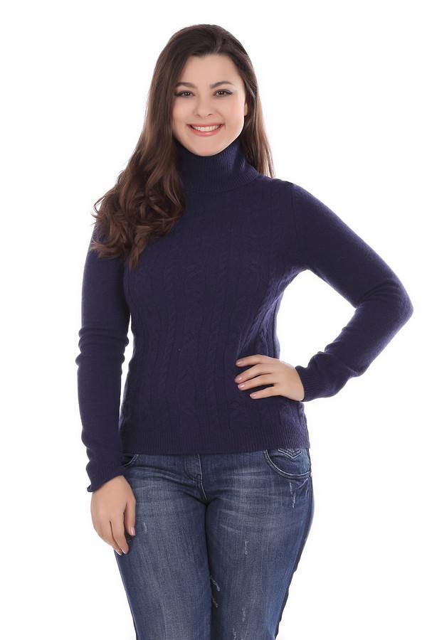 Водолазка PezzoВодолазки<br>Универсальная женская водолазка от бренда Pezzo синего цвета. Данное изделие состоит из шерсти, ангоры и полиамида. Эта модель рассчитана на зимний сезон. Такая вещь является универсальной. Она может быть самостоятельной единицей. Также ее можно носить в сочетании с пончо или жилетами. Практичный вариант для повседневного образа.<br><br>Размер RU: 50<br>Пол: Женский<br>Возраст: Взрослый<br>Материал: шерсть 70%, полиамид 10%, ангора 20%<br>Цвет: Синий