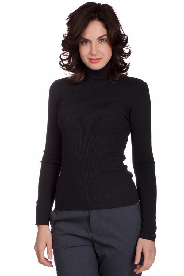 Водолазка PezzoВодолазки<br>Модная женская водолазка от бренда Pezzo черного цвета. Данное изделие состоит из эластана, полиамида и шелка. Модель рассчитана на осень и весну. Подобная вещь является универсальной и незаменимой на холодную пору года. Ее можно носить с жилетами, пончо или жакетами. Идеальный вариант для работы или учебы.<br><br>Размер RU: 52<br>Пол: Женский<br>Возраст: Взрослый<br>Материал: эластан 5%, полиамид 32%, шелк 63%<br>Цвет: Чёрный