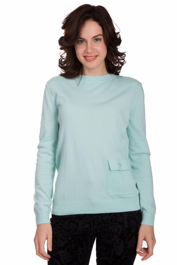 Пуловер PezzoПуловеры<br>Оригинальный женский пуловер от бренда Pezzo мятного голубого цвета. Это изделие состоит из вискозы, полиамида, хлопка, кашемира и шерсти. Такая модель рассчитана на осень и весну. Пуловер свободного кроя. Дополнен карманом сбоку. Эта вещь придаст образу яркости и оригинальности. Подойдет тем кому по душе интересные цветовые решения в одежде.<br><br>Размер RU: 54<br>Пол: Женский<br>Возраст: Взрослый<br>Материал: вискоза 33%, полиамид 23%, шерсть 20%, хлопок 20%, кашемир 4%<br>Цвет: Голубой