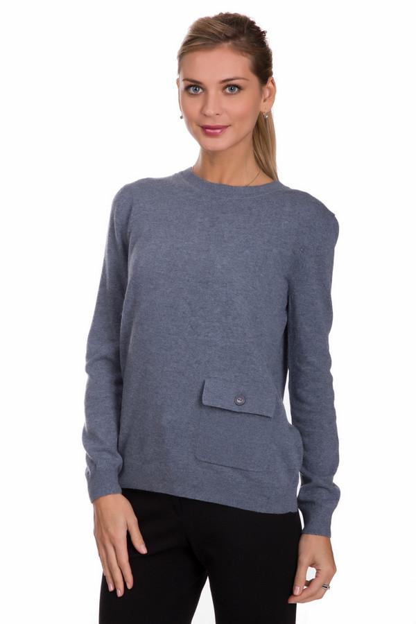 Пуловер PezzoПуловеры<br>Универсальный женский пуловер от бренда Pezzo серого цвета. Данный образец состоит из вискозы, полиамида, хлопка, и шерсти кашемира. Такая вещь рассчитана на осень и весну. Пуловер не облегает фигуру. Дополнен карманом сбоку. Подойдет для похода на учебу или работу. Отличный вариант для тех кому нравится спокойные тона в одежде.<br><br>Размер RU: 54<br>Пол: Женский<br>Возраст: Взрослый<br>Материал: вискоза 33%, полиамид 23%, шерсть 20%, хлопок 20%, кашемир 4%<br>Цвет: Синий
