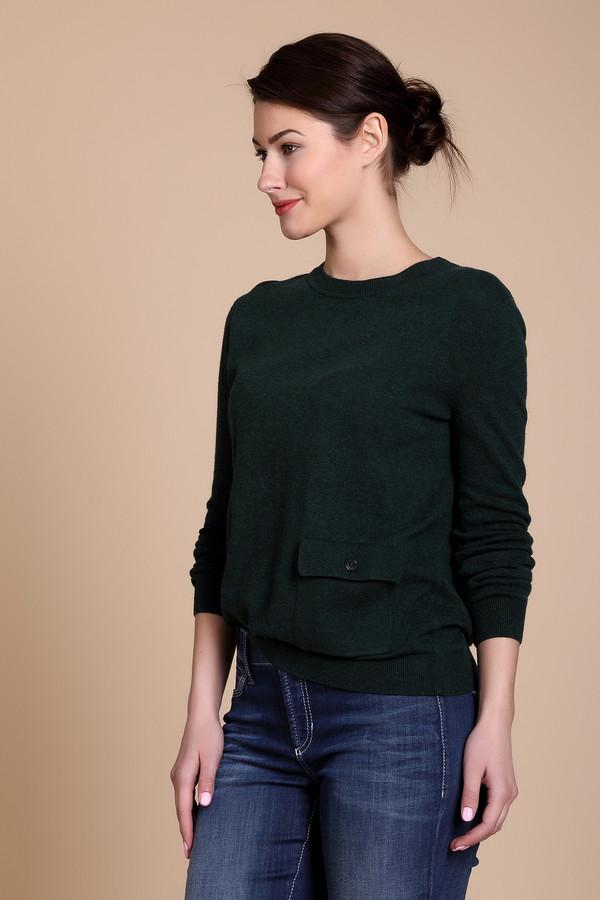 Пуловер PezzoПуловеры<br>Удобный женский пуловер от бренда Pezzo синего цвета. Данный образец состоит из вискозы, полиамида, хлопка, и шерсти кашемира. Такая вещь рассчитана на осень и весну. Пуловер не облегает фигуру. Дополнен удобным карманом сбоку. Подойдет для похода на учебу или работу. Отличный вариант для тех кто любит простоту в одежде.<br><br>Размер RU: 48<br>Пол: Женский<br>Возраст: Взрослый<br>Материал: вискоза 33%, полиамид 23%, шерсть 20%, хлопок 20%, кашемир 4%<br>Цвет: Зелёный