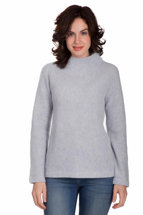 Пуловер PezzoПуловеры<br>Универсальный женский пуловер от бренда Pezzo светлого серого цвета. Этот образец состоит из шерсти, ангоры и полиамида. Данная модель рассчитана на зимнюю погоду. Пуловер свободного кроя. Ворот закрывает шею. Такая вещь является универсальной. Это идеальный вариант для простого повседневного образа.<br><br>Размер RU: 46<br>Пол: Женский<br>Возраст: Взрослый<br>Материал: шерсть 70%, полиамид 10%, ангора 20%<br>Цвет: Серый