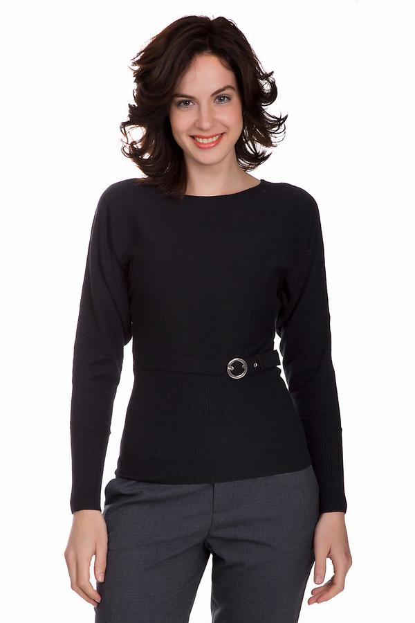 Пуловер PezzoПуловеры<br>Универсальный женский пуловер от бренда Pezzo черного цвета. Данный образец изготовлен из вискозы, шерсти и нейлона. Данная модель рассчитана на демисезон. Пуловер облегает фигуру. Украшен пояском на талии. Рукава в плечах объемные. Это смотрится необычно и стильно. Отличное решение для тех кому нравятся простые цветовые решения.<br><br>Размер RU: 50<br>Пол: Женский<br>Возраст: Взрослый<br>Материал: вискоза 46%, шерсть 19%, нейлон 35%<br>Цвет: Чёрный
