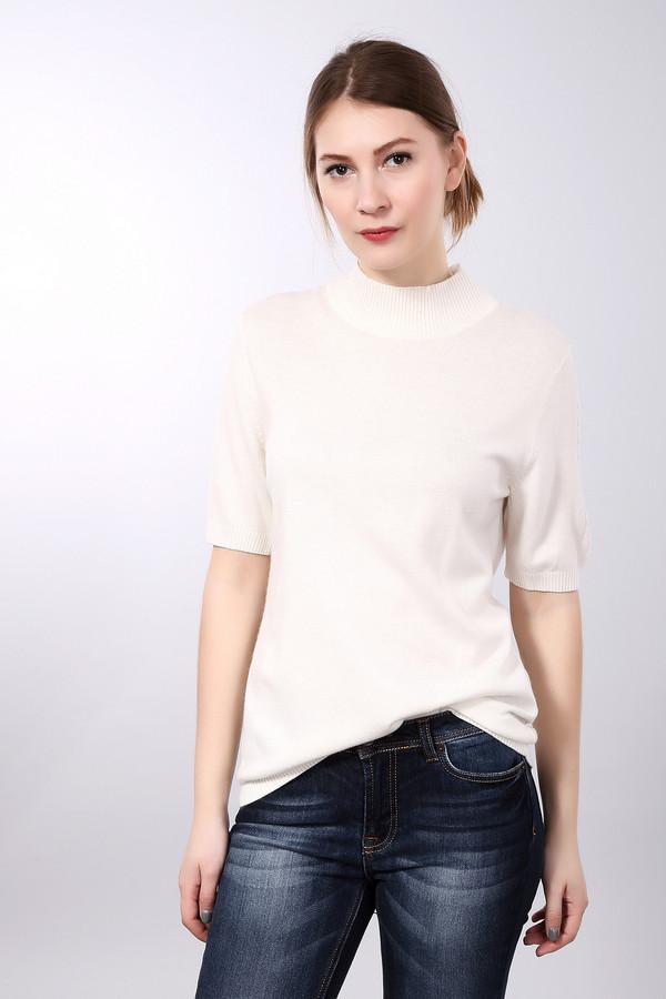 Пуловер PezzoПуловеры<br>Базовый женский пуловер от бренда Pezzo белого цвета. Этот образец состоит из вискозы, полиамида, шерсти, хлопка и кашемира. Модель рассчитана на осенний и весенний сезоны. Пуловер облегает фигуру. Подчеркивает ее достоинства. Ворот закрывает шею. Рукава сильно укороченные. Украшены вертикальными вязанными косичками. Идеальная база для образа.<br><br>Размер RU: 54<br>Пол: Женский<br>Возраст: Взрослый<br>Материал: вискоза 33%, полиамид 23%, шерсть 20%, хлопок 20%, кашемир 4%<br>Цвет: Белый
