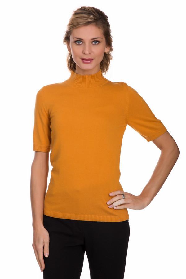 Пуловер PezzoПуловеры<br>Яркий женский пуловер от бренда Pezzo желтого цвета. Данное изделие состоит из вискозы, полиамида, шерсти, хлопка и кашемира. Эта модель рассчитана на осенний и весенний сезоны. Пуловер облегает фигуру. Подчеркивает ее достоинства. Ворот закрывает шею. Рукава сильно укороченные. Украшены вертикальными вязанными косичками. Придаст любому образу яркости и оригинальности.<br><br>Размер RU: 44<br>Пол: Женский<br>Возраст: Взрослый<br>Материал: вискоза 33%, полиамид 23%, шерсть 20%, хлопок 20%, кашемир 4%<br>Цвет: Жёлтый