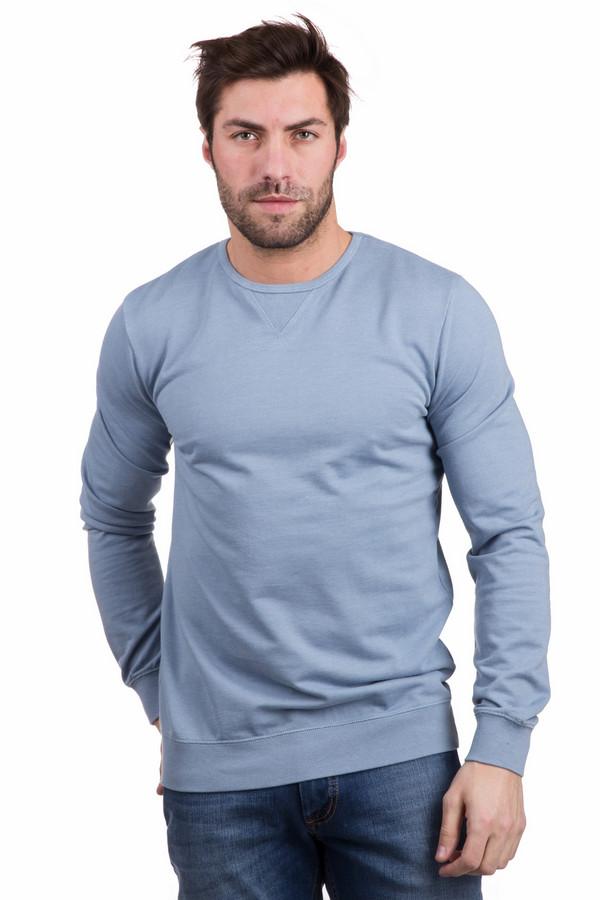 Лонгслив PezzoЛонгсливы<br>Повседневный мужской лонгслив Pezzo голубого цвета. Изготовлена из хлопка и полиэстера. Отлично подходит для весеннего и осеннего сезонов. Модель дополнена широкими резинками на манжетах и по низу изделия. Изделие придаст образу спортивности и мужественности. Прекрасно сочетается с джинсами темного цвета.<br><br>Размер RU: 50<br>Пол: Мужской<br>Возраст: Взрослый<br>Материал: полиэстер 20%, хлопок 80%<br>Цвет: Голубой