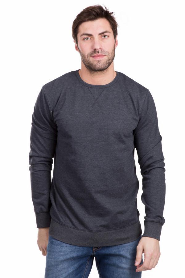 Лонгслив PezzoЛонгсливы<br>Уютный мужской лонгслив Pezzo серого цвета. Материал состоит из хлопка и полиэстера. Лучшее время для носки - демисезона. Удобен для ежедневного использования, сочетается с классическими джинсами различных оттенков. Декорирован широкой резинкой на манжетах и по низу модели. Подойдет для тех, кто предпочитает темные оттенки в одежде.<br><br>Размер RU: 48<br>Пол: Мужской<br>Возраст: Взрослый<br>Материал: полиэстер 20%, хлопок 80%<br>Цвет: Серый