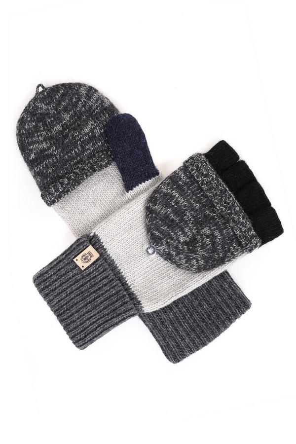 Перчатки RoecklПерчатки<br>Практичные женские перчатки Roeckl белого, серого и черного цвета. Материал содержит полиэстер, вискозу, металл, шерсть, нейлон, альпаку. Лучше всего подходит для зимнего сезона. Модель декорирована разными цветами: основная часть белая, резинка и верхняя часть серая. Перчатки могут трансформироваться в митенки.<br><br>Размер RU: один размер<br>Пол: Женский<br>Возраст: Взрослый<br>Материал: полиэстер 10%, вискоза 32%, металл 6%, шерсть 19%, нейлон 29%, альпака 4%<br>Цвет: Разноцветный