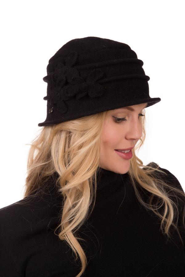 Шляпа SeebergerШляпы<br>Шляпа Seeberger в черном цвете – это сдержанность и элегантность в одном флаконе. Изящная форма, присборенная ткань, легкий декор делают эту модель очень особенной. Материал этой кокетливой шляпки – шерсть, поэтому даже в прохладную походу в ней будет тепло и уютно. Демисезонная модель идеально гармонирует с пальто – приталенными или свободного кроя.<br><br>Размер RU: один размер<br>Пол: Женский<br>Возраст: Взрослый<br>Материал: шерсть 100%<br>Цвет: Чёрный