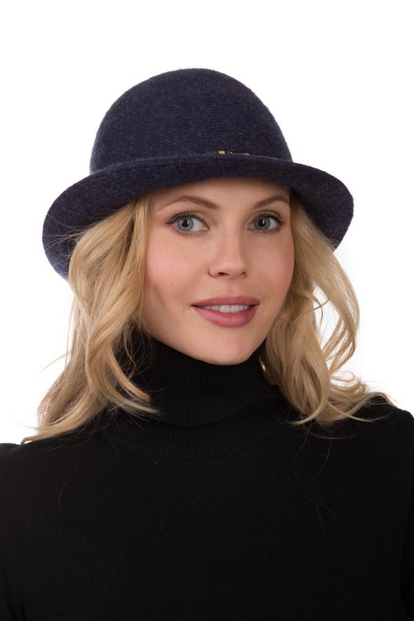 Шляпа SeebergerШляпы<br>Шляпа Seeberger темно-синего цвета прекрасна и элегантна. Ее изогнутый силуэт, мягкие формы и качественный материал (шерсть), несомненно, не оставят вас равнодушной. Модель отделана блестящей декоративной полоской, опоясывающей шляпку по всему периметру. Головной отбор отлично смотрится с женственной и изящной верхней одеждой.<br><br>Размер RU: один размер<br>Пол: Женский<br>Возраст: Взрослый<br>Материал: шерсть 100%<br>Цвет: Синий
