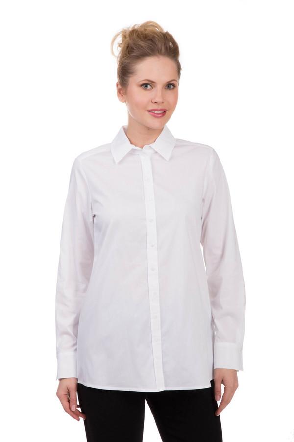 Блузa Gerry WeberБлузы<br>Блузa Gerry Weber белая из хлопка, эластана и полиамида – универсальная и достаточно оригинальная вещь. Модель предельно проста спереди, зато сзади снабжена декоративной застежкой и глубокой складкой. Блуза с отложным воротником будет хороша для любого сезона. Хорошо комбинируется с одеждой разных стилей, особенно – с классическими брюками.<br><br>Размер RU: 44<br>Пол: Женский<br>Возраст: Взрослый<br>Материал: эластан 3%, хлопок 68%, полиамид 29%<br>Цвет: Белый