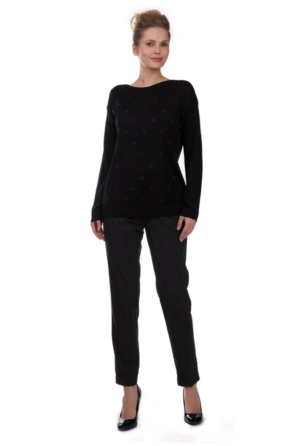 женские брюки steilmann, серые
