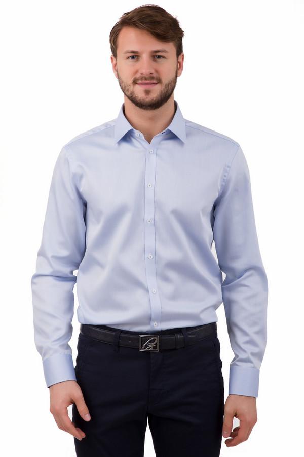 Рубашка с длинным рукавом VentiДлинный рукав<br>Рубашка с длинным рукавом Venti нежно-голубого цвета. Пастельные тона идут любому мужчине. Рубашка с длинным рукавом из 100%-ного хлопка доказывает это наилучшим образом. Изюминка модели – фигурные манжеты. Носить ее можно круглый год: под пиджак, брюки, джинсы.<br><br>Размер RU: 45<br>Пол: Мужской<br>Возраст: Взрослый<br>Материал: хлопок 100%<br>Цвет: Голубой