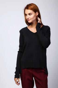 Пуловер Comma, цвет синий, размер 40RU