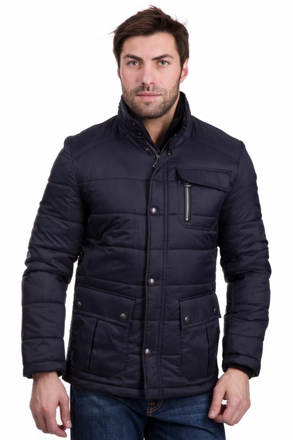 Куртка BugattiКуртки<br><br><br>Размер RU: 52К<br>Пол: Мужской<br>Возраст: Взрослый<br>Материал: полиамид 100%<br>Цвет: Синий