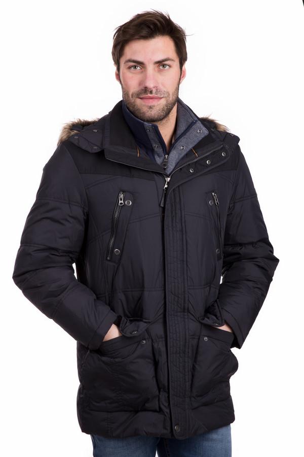 Куртка CabanoКуртки<br>Мужская куртка Cabano в черном цвете. Классная модель из 100%-ного нейлона идеальна для зимы. Куртка застегивается на молнию и кнопки, снабжена накладными и прорезными карманами. Простежка, отделка близкой по тону тканью, коричневый мех на капюшоне - характерные особенности модели. Прекрасно сочетается с остальными вещами.<br><br>Размер RU: 48<br>Пол: Мужской<br>Возраст: Взрослый<br>Материал: нейлон 100%<br>Цвет: Чёрный