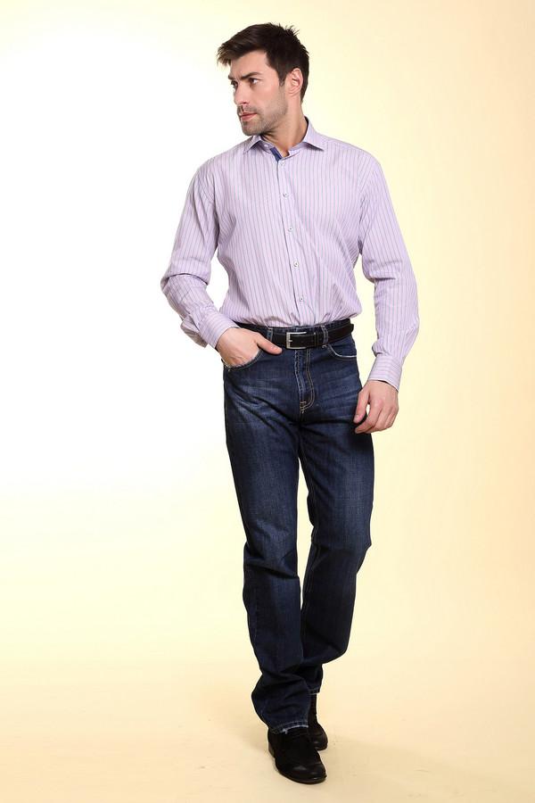 Модные джинсы Flavio NavaМодные джинсы<br>Джинсовые брюки Flavio Nava. В таких джинсах вы будете выглядеть неизменно стильно. Синие джинсы классического кроя всегда на вершине популярности. И неудивительно: носить их можно с чем угодно. Темно-синие брюки из 100%-ного хлопка очень хороши для любой погоды. Вы сможете носить их круглогодично и комбинировать с разными вещами.<br><br>Размер RU: 50(L34)<br>Пол: Мужской<br>Возраст: Взрослый<br>Материал: хлопок 100%<br>Цвет: Синий