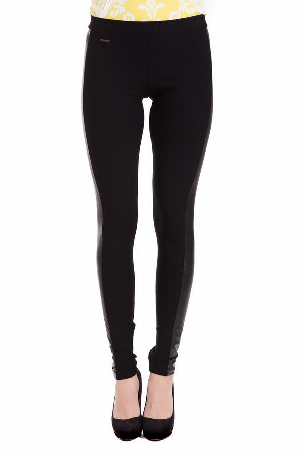 Леггинсы LocustЛеггинсы<br>Изящные женские леггинсы Locust черного цвета. Изготовлена модель из эластана, вискозы и полиамида. Предпочтительно носить в демисезон: весной или осенью. Изделие облегает ноги, подчеркивая их стройность. Дополнено серой вставкой по боковым сторонам ног. Лучше всего смотрятся с короткими платьями, кардиганами, длинными рубашками.<br><br>Размер RU: 48<br>Пол: Женский<br>Возраст: Взрослый<br>Материал: эластан 4%, вискоза 70%, полиамид 26%<br>Цвет: Чёрный