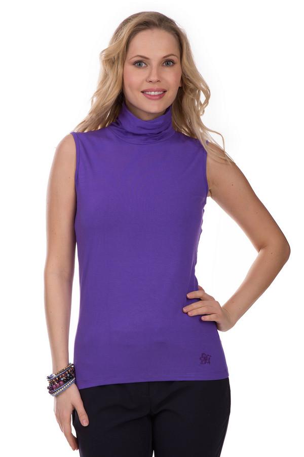 Топ PezzoТопы<br>Топ Pezzo фиолетовый. Эта модель – проста и изящна. Основное внимание – на цвет. В одежде такого оттенка невозможно быть не в центре внимания. Вискоза с эластаном – чудесное сочетание для летней вещи. Этот милый топ с воротником-стойкой выглядит очень гармонично в разных ансамблях: с юбками, брюками, джинсами, шортами и т.д.<br><br>Размер RU: 46<br>Пол: Женский<br>Возраст: Взрослый<br>Материал: эластан 5%, вискоза 95%<br>Цвет: Фиолетовый