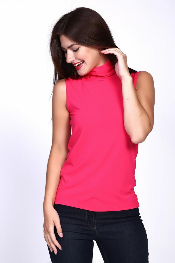 Топ PezzoТопы<br>Топ Pezzo ярко-розового цвета. Классная и эффектная вещь. Воротник-стойка и сочный оттенок – отличительные черты данной модели. В ней вы всегда будете ловить на себе восхищенные взгляды окружающих. Носить ее можно в комплекте с брючками, юбками, шортами, под пиджак.<br><br>Размер RU: 44<br>Пол: Женский<br>Возраст: Взрослый<br>Материал: эластан 5%, вискоза 95%<br>Цвет: Розовый