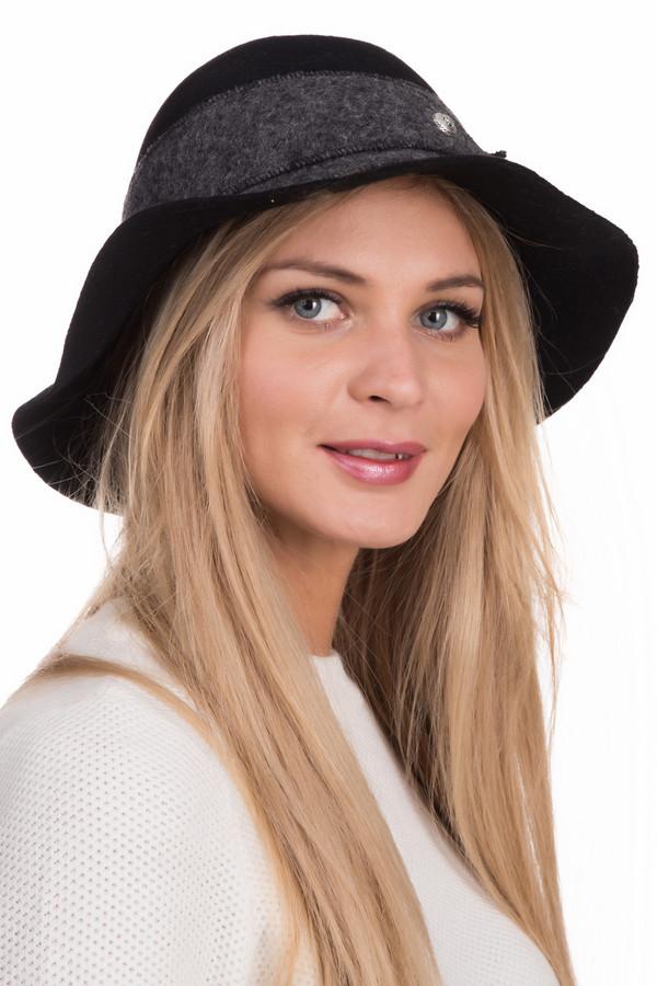 Шляпа WegenerШляпы<br>Шляпа Wegener женская. Эта женственная модель подойдет для любой формы лица. Мягкие и довольно широкие поля этой шляпки смотрятся мило и прелестно. Изделие украшено полосой ткани по всему периметру шляпки, закрепленной декоративными застежками. Сочетание черного и серого цветов – всегда практично и красиво. Состав ткани: 100-%-ная шерсть. Идеально подойдет под элегантное пальто или полупальто.<br><br>Размер RU: один размер<br>Пол: Женский<br>Возраст: Взрослый<br>Материал: шерсть 100%<br>Цвет: Серый