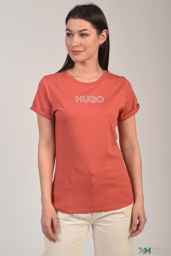женская футболка hugo