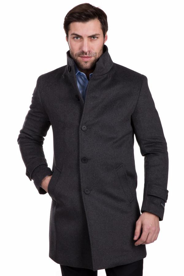 Пальто Just ValeriПальто<br>Удлиненное мужское пальто Just Valeri черного цвета призвано придать элегантный и загадочный облик. Идеально для ношения в осенние дни. Модель дополнена карманами, пуговичной застежкой и высоким воротом. Подойдет мужчинам, которые уверены в себе и хотят сразить прекрасный пол наповал.<br><br>Размер RU: 56<br>Пол: Мужской<br>Возраст: Взрослый<br>Материал: кашемир 5%, шерсть 95%<br>Цвет: Серый