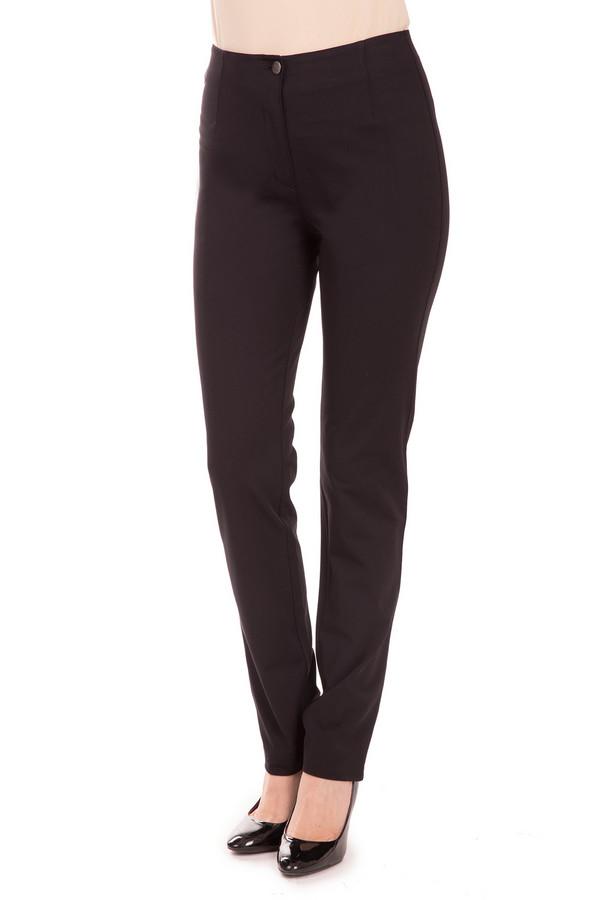 Брюки VaniliaБрюки<br>Стильные и женственные брюки Vanilia черного цвета. Состав – эластан, хлопок, полиамид. Стройность ножек в любое время года. Ничего лишнего – только нежное облегание и лаконичный фасон. Изделие дополнено застежкой-молнией и пуговкой. При сочетании с высокими каблуками вы будете выглядеть просто неотразимо.<br><br>Размер RU: 48<br>Пол: Женский<br>Возраст: Взрослый<br>Материал: эластан 7%, хлопок 52%, полиамид 41%<br>Цвет: Чёрный