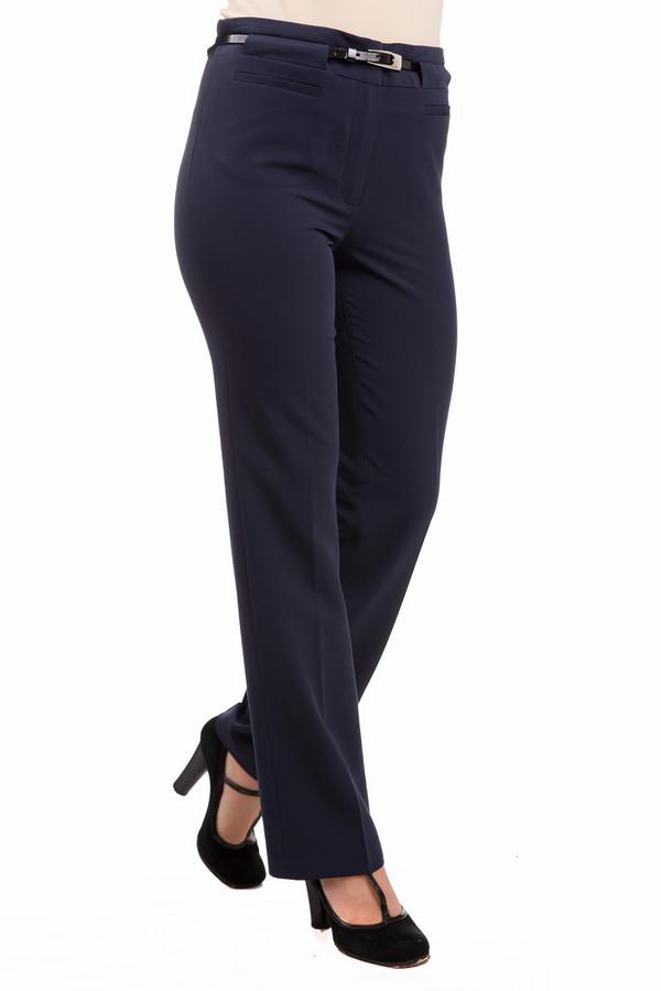 Брюки PezzoБрюки<br>Женственные изящные брюки Pezzo синего цвета. Изделие состоит из полиэстера, спандекса и района. Рассчитаны на демисезон. Изделие дополнено пояском с серебристой пряжкой, смотрится дорого и элегантно. Крой прямой, классический. Безупречны для ответственных встреч и работы в представительных компаниях. Подойдет тем, кто высоко ценит элегантность и стиль. В них вы будете выглядеть, как настоящая леди.<br><br>Размер RU: 42<br>Пол: Женский<br>Возраст: Взрослый<br>Материал: полиэстер 72%, спандекс 5%, район 23%<br>Цвет: Синий