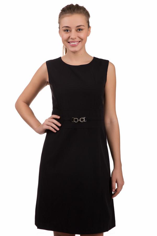 Платье PezzoПлатья<br>Маленькое черное платье от Pezzo должно быть в гардеробе каждой женщины. Прямое, гладкое, визуально стройнящее платье изготовлено из таких материалов, как полиэстер, спандекс, район. Изделие дополнено изящным пояском с серебристой пряжкой. Рукав – короткий. Такое платье заставит помолодеть и почувствовать себя девушкой из высшего общества.<br><br>Размер RU: 50<br>Пол: Женский<br>Возраст: Взрослый<br>Материал: полиэстер 72%, спандекс 5%, район 23%<br>Цвет: Чёрный