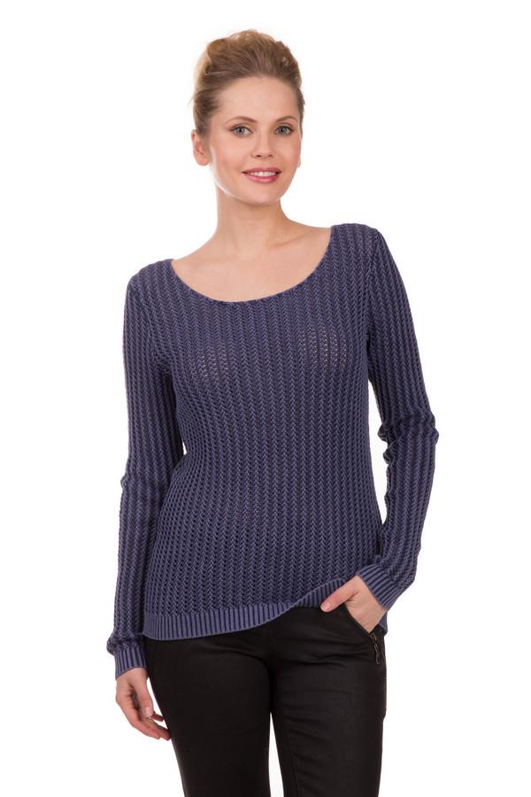 Пуловер LerrosПуловеры<br>Приталенный женский пуловер Lerros из 100% хлопка. Его фасон будто создан для того, чтобы подчеркнуть все достоинства вашей фигуры. Носить такую модель можно в любой сезон. Легко сочетается абсолютно со всеми аксессуарами. Благодаря своей нейтральности может адаптироваться под любой имидж. Изделие дополнено широкими резинками на рукавах, благодаря чему придается дополнительное изящество кистям рук. Вырез «мыс» - находка на все случаи жизни<br><br>Размер RU: 46<br>Пол: Женский<br>Возраст: Взрослый<br>Материал: хлопок 100%<br>Цвет: Синий