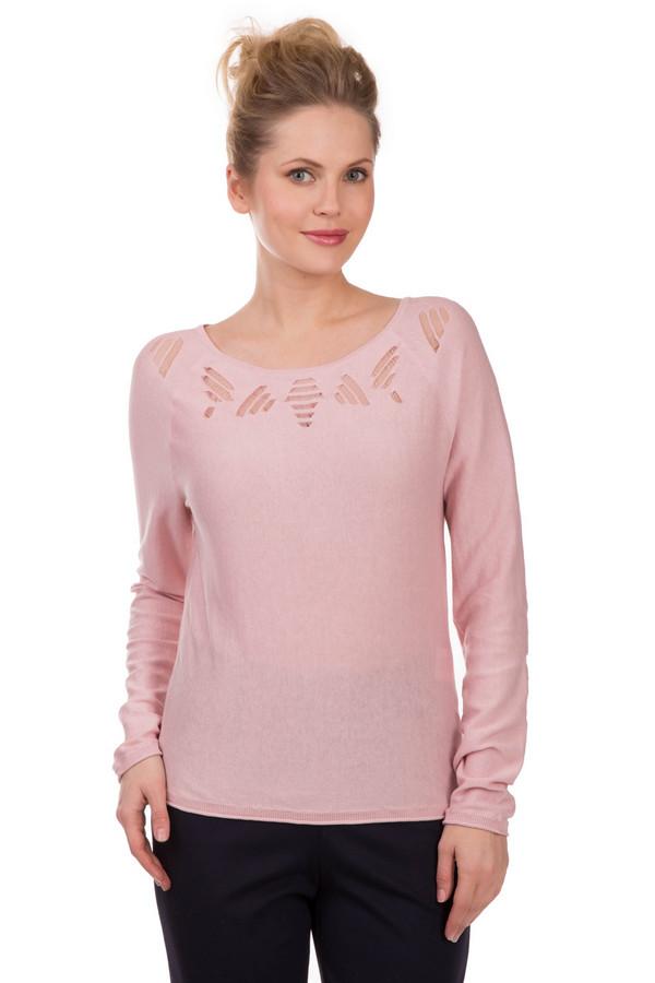 Пуловер LerrosПуловеры<br>Нежно-розовый пуловер из хлопка Lerros пробуждает невероятную женственность и нежность в каждой представительнице прекрасного пола. Рассчитан на демисезон. Изделие дополнено привлекательным узором-сеточкой в виде полосочек в районе выреза. Вырез «мыс» делает пуловер идеально подходящим для работы в офисе. Подойдет романтичным и женственным натурам, которые хотят это подчеркнуть.<br><br>Размер RU: 40<br>Пол: Женский<br>Возраст: Взрослый<br>Материал: хлопок 100%<br>Цвет: Розовый