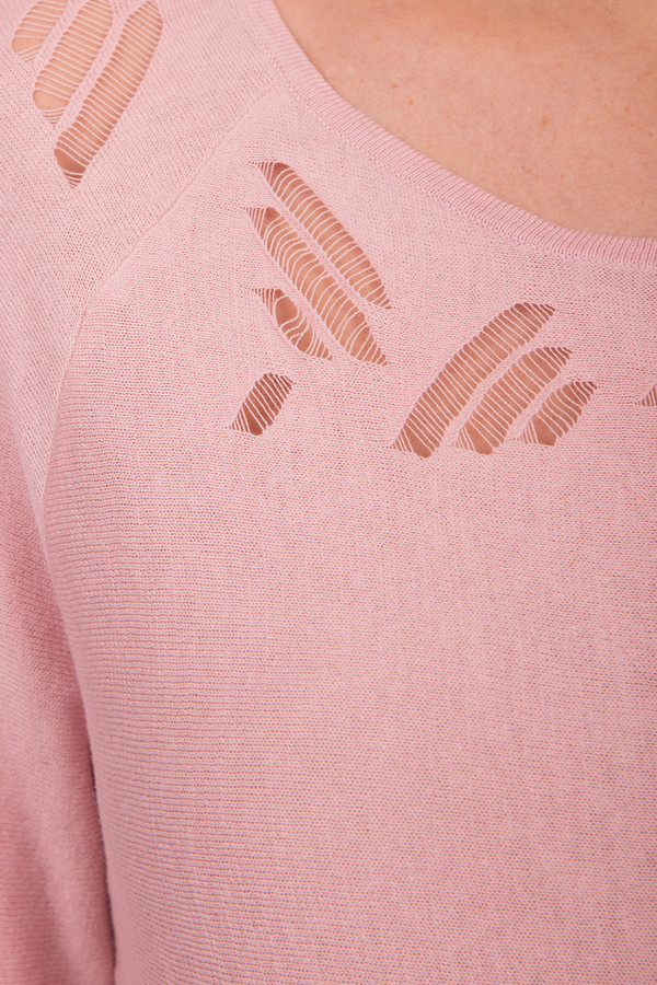 Пуловер сеточкой доставка