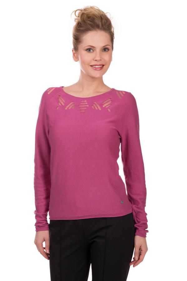 Пуловер LerrosПуловеры<br>Малиновый женский пуловер от Lerros. Добавьте в пасмурный демисезон каплю яркости и очарования! 100% хлопок приятно ляжет на тело. Изделие дополнено креативным узором «сеточкой», напоминающим значок сигнала Wi-Fi. Правильно, пусть все узнают, что вы в порядке и всегда на связи. Оптимистичная расцветка и продуманный силуэт, подчеркивающий фигуру, сделают вас просто неотразимой.<br><br>Размер RU: 40<br>Пол: Женский<br>Возраст: Взрослый<br>Материал: хлопок 100%<br>Цвет: Розовый