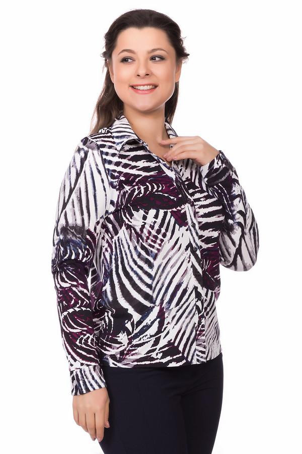 Блузa LebekБлузы<br>Блузa Lebek женская. Модель в белом, черном, сиреневом, фиолетовом, сером цветах. Состав ткани: вискоза плюс эластан. Демисезонное изделие. Застежка на пуговицы спереди, отложной воротничок – классика в чистом виде. Изюминка этой модели – пестрая необычная расцветка.<br><br>Размер RU: 50<br>Пол: Женский<br>Возраст: Взрослый<br>Материал: эластан 5%, вискоза 95%<br>Цвет: Разноцветный